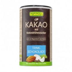 Ingredientes: Azúcar de coco* 69%, cacao desgrasado* 30% (contenido de manteca de cacao: 11%), vainilla Bourbon*, sal marina. *