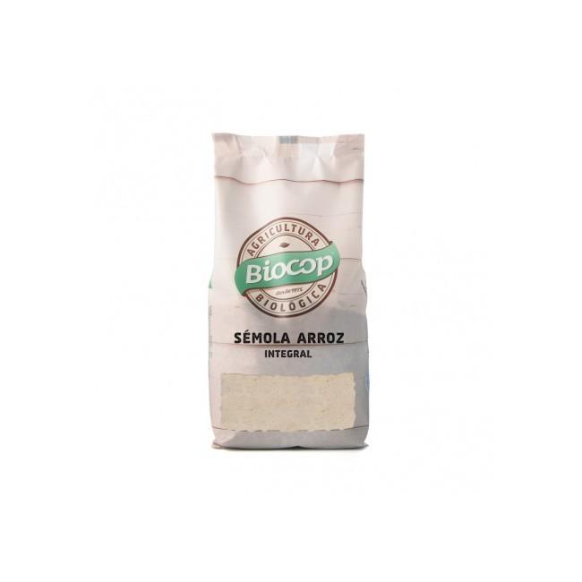 Ingredientes: Sémola de arroz integral* *De agricultura biológica. Alérgenos: Trazas : Altramuces y prod. a base de altramuces