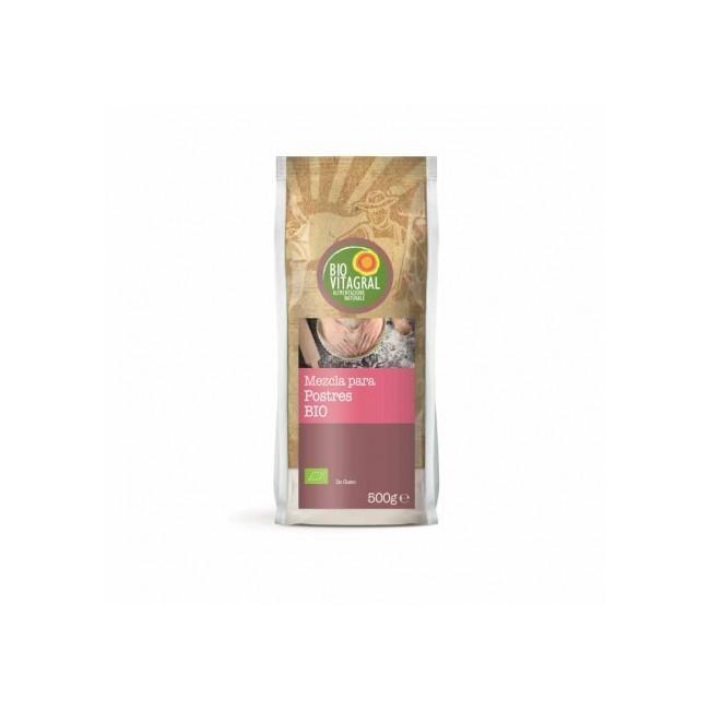 Ingredientes: Harina de maíz*, harina de arroz*, almidón de maíz*, almidón de tapioca*, corrector de acidez: tartratos de potas