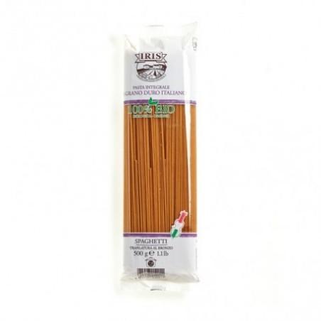 Espagueti de sémola integral de trigo duro producido con una mezcla de granos seleccionados y cultivados por la Cooperativa Agr