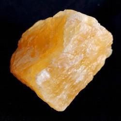 Calcita Amarilla en bruto,con un alto e intenso color amarillo anaranjado.Ejemplares aprox de 3-6 cmts.