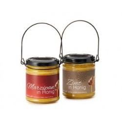 Miel con Canela: miel de girasol, canela de Ceylon (2%)