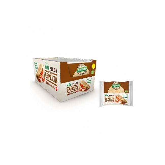 Ingredientes: Harina de TRIGO ESPELTA Integral* 30%, harina de TRIGO ESPELTA 30%, agua, aceite de oliva virgen extra* 7%, sal,