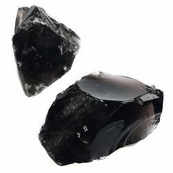 Ejemplares de Obsiana Negra, procedente de México. ejemplares de diferentes tamaños y medidas.  En estos ejemplares se puede