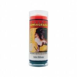 VELON CONSAGRADO Calla Chismes 15 x 5.5 cm (Incluye Ritual)  También llamado Amarra Lengua