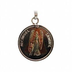 Amuleto Arcangel Chamuel con Tetragramaton 2.5 cm