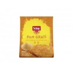 Pan rallado sin gluten Pan rallado sin gluten ideal para que la carne, el pescado y las verduras tengan un exquisito aroma y m