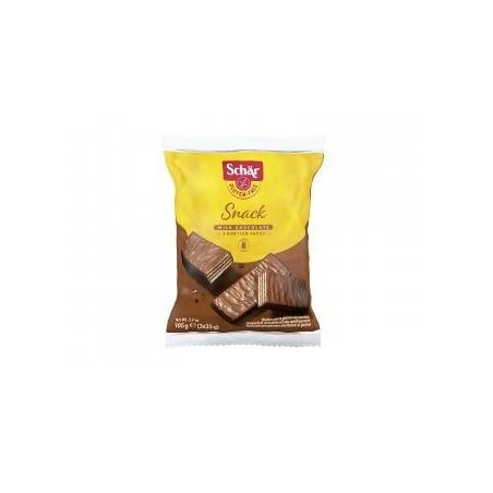 Barquillos recubiertos de chocolate sin gluten con avellanas Una buena dosis de energía. Barquillo crujiente relleno de crema