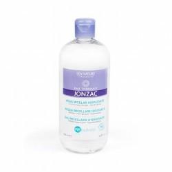TRIPLE ACCIÓN: LIMPIA, DESMAQUILLAJE E HIDRATA EL ROSTRO Agua micelar hidratante Jonzac ® REhydrate limpia suavemente la piel