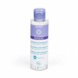 AGUA MICELAR DESMAQUILLANTE DE OJOS Y ROSTRO Agua micelar hidratante formato viaje de Jonzac ® REhydrate limpia suavemente la
