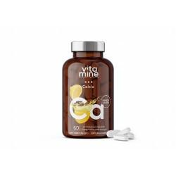 Calcio El calcio de Vitamine es un complemento alimenticio a base de calcio y vitamina D3.  El calcio es un mineral indispen