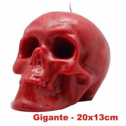 VELA FORMA Craneo Gigante 13 cm (Rojo) * Ref.: VFCRAGR