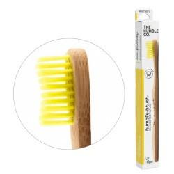 humble brush adult, amarillo, cerdas suaves   el más vendido del mundo, por una razón el original que arrasó en el mundo. li