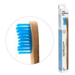 humble brush adult - azul, cerdas medianas el más vendido del mundo, por una razón el original que arrasó en el mundo. limpia