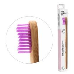 humble brush adult - púrpura, cerdas medianas el más vendido del mundo, por una razón el original que arrasó en el mundo. lim