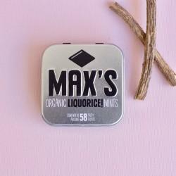 Sirope de glucosa *, dextrosa *, polvo de regaliz * (2,9%), aromas naturales.  Disponible en  Paquete de 35 gramos  Paque