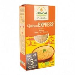 Ingredientes: Quinoa Real Instant *. * De Agricultura Ecológica. Uso: 1 volumen de quinua = (60 g) + 1 volumen de agua hirvien