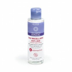 AGUA MICELAR ANTIEDAD FORMATO VIAJE Agua micelar Jonzac® SUblimactive en formato de bolsillo, perfecta para llevar de viaje. L