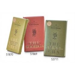 COD 53711 azúcar, manteca de cacao, leche entera en polvo, té matcha (2,5%), emulsionante: Soja-lecitina, vainilla Nutritiona