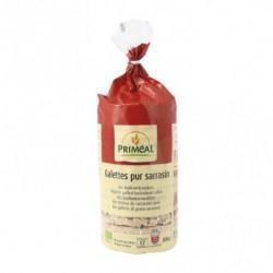 Deliciosas tortitas 100% a base de trigo sarraceno, fuente de fibra. Ingredientes: Trigo sarraceno * 99.5%, sal marina * de la
