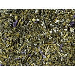 Té verde (93 %), polvo de kombucha (maltodextrina, azúcar, agua, mezcla de hierbas (hojas de mora, frambuesa, y fresa, limoncil