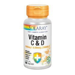 CONTENIDO MEDIO (POR VEGCAP) Vitamina C (ac. Ascórbico)100mg Vitamina D3 (Colecalciferol) 50mcg INGREDIENTES Vitamina C (ac
