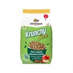 Ingredientes: Copos de AVENA integral 61%, azúcar de caña, aceite de girasol 11%, copos de TRIGO integral 9%, arroz extruido (a
