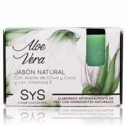 El Jabón Natural SyS PREMIUM 100g ALOE VERA  está elaborado artesanalmente en frío y con ingredientes naturales.  Contienen e