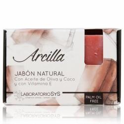 El Jabón Natural SyS PREMIUM 100g ARCILLA  está elaborado artesanalmente en frío y con ingredientes naturales.  Contienen exc