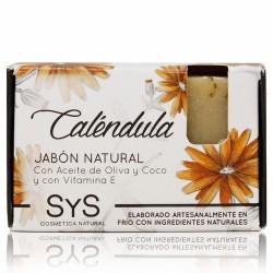 El Jabón Natural SyS PREMIUM 100g CALENDULA  está elaborado artesanalmente en frío y con ingredientes naturales.  Contienen e