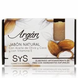 El Jabón Natural SyS PREMIUM 100g ARGAN  está elaborado artesanalmente en frío y con ingredientes naturales.  Contienen exclu