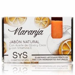 El Jabón Natural SyS PREMIUM 100g NARANJA  está elaborado artesanalmente en frío y con ingredientes naturales.  Contienen exc