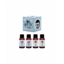 ¡Llévate YOPE allá dónde vayas!  Un kit perfecto con una versión en formato viaje de tus productos favoritos YOPE para el gim