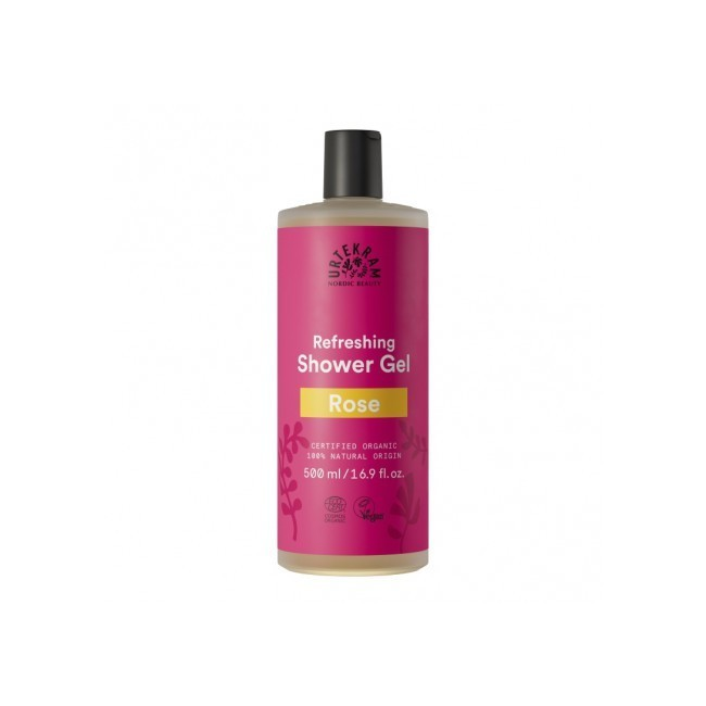 Gel de baño con aroma de rosas. Las suaves burbujas con hidratante aloe vera y glicerina dejan la piel limpia y suave, mientras