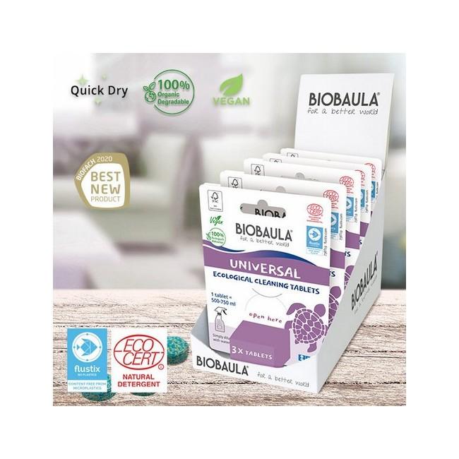 Contiendo de un paquete de 3 pastillas: 22g Envase sin contenido 8 g Tamaño del embalaje 13 cm x 10 cm Contiene 3 pastillas