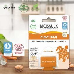 Contenido de un paquete de 3 pastillas: 22g Envase sin contenido 8 g Tamaño del embalaje 13 cm x 10 cm Contiene 3 pastillas