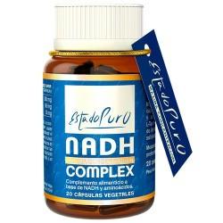 Formulación exclusiva a base de NADH, en su isómero ß biológicamente activo en el organismo. Reforzado con los aminoácidos L-c