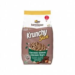 Muesli krunchy Sun chocolate avellanas Barnhouse 375 g Elaborado con aceite de girasol Ligero y crujiente   Unidad   Caja