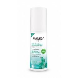 Nuestra HydraMist Bruma es apta para veganos. Bruma refrescante en spray. Revitaliza la piel cansada y apagada y los sentidos.