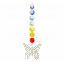 El hada mariposa es un símbolo de renovación: en su compañía, nuestra transformación interior deviene con facilidad y dulzura.