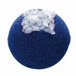 Baño armonizante ¡de otra galaxia! Bomba de baño Galaxy Glow de Treets Bubble.  Modo de empleo: dejar caer la bomba suavement