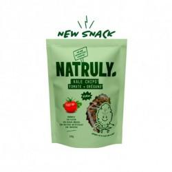 ORGÁNICO SIN GLUTEN SIN AZUCAR SIN ADITIVOS SIN TONTERÍAS Kale (51%) Pipas de girasol (30%) Tomate (10%) Levadura (4%)