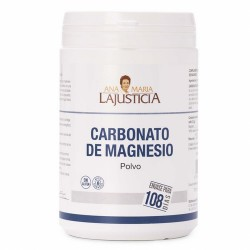 CARBONATO DE MAGNESIO 130g |  108 días El magnesio ayuda a disminuir el cansancio y la fatiga. El magnesio contribuye al e