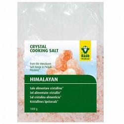 *La sal cristalina de Raab procede de la  Salt Range (en la provincia Punjab,  Paquistán) de la región del Himalaya. Su bonito