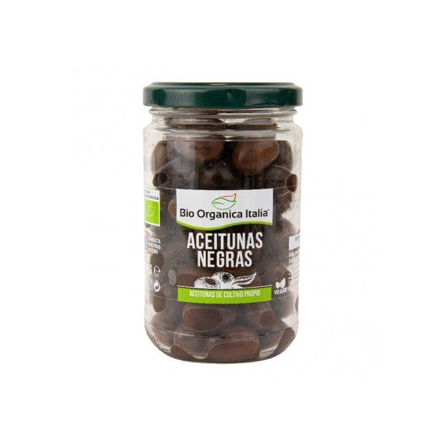 Ingredientes: Olivas negras* 93%, sal, regulador de acidez: ácido láctico. Uso: Ideal como aperitivo, aperitivo o condimento p