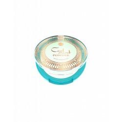 Polvos compactos con efecto refrescante para fijar el maquillaje, alisar y matificar la piel.  La fórmula está enriquecida co