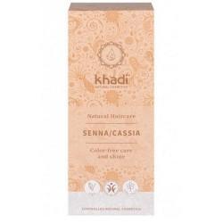 Senna Cassia Khadi 100% pura y natural, fortalece y regenera la estructura de tu cabello.  Siente el poder de la naturaleza,