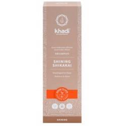 Champú Shikakai Brillo de Khadi, elixir ayurveda iluminación para el cabello: brillo natural e hidratación intensa  Protecció