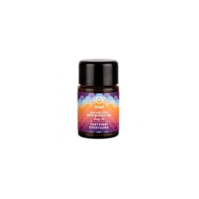 Elixir Ayurveda Shatavari, aceite Anti-age de Khadi: experimente el rejuvenecimiento puro y la regeneración celular holística