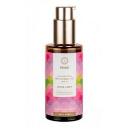 Elixir Ayurveda Regenerante, aceite de Rosas de Khadi: irradia la belleza de tu corazón hacia adentro, hacia todas y cada una d
